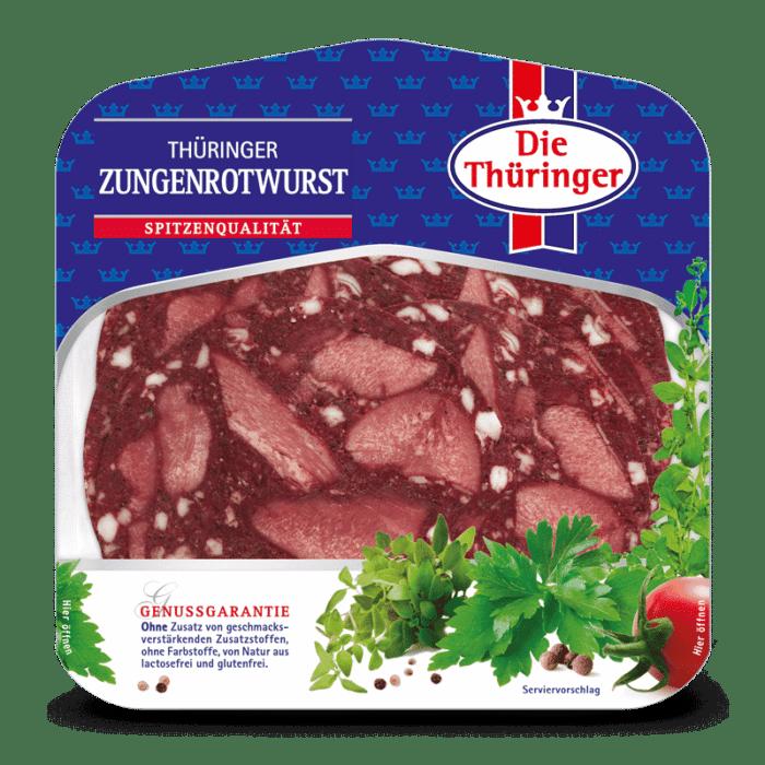 Thüringer Zungenrotwurst 1