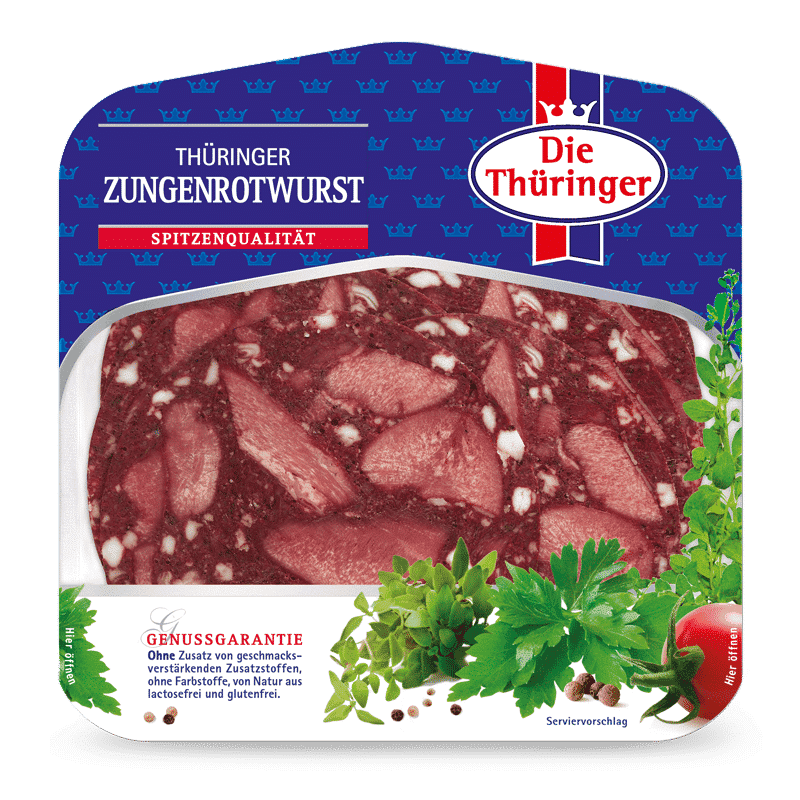 Thüringer Zungenrotwurst 2