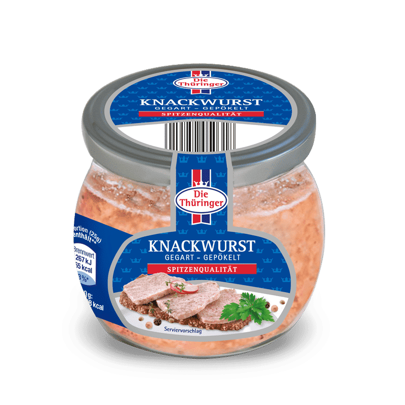 Knackwurst im Glas 11