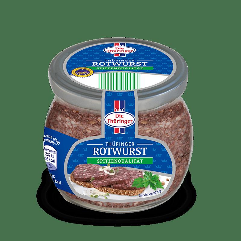 Thüringer Rotwurst im Glas 6