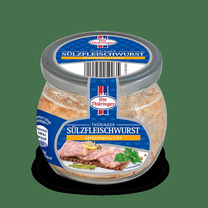 Thüringer Sülzfleischwurst im Glas 9