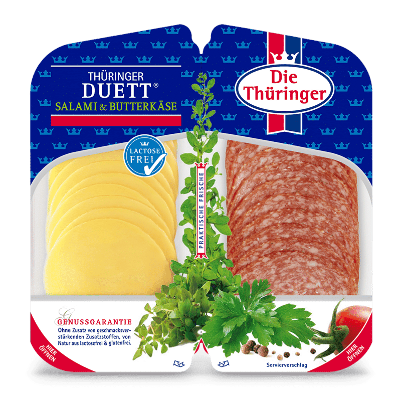Thüringer Duett (Thüringer Salami & Butterkäse) 39