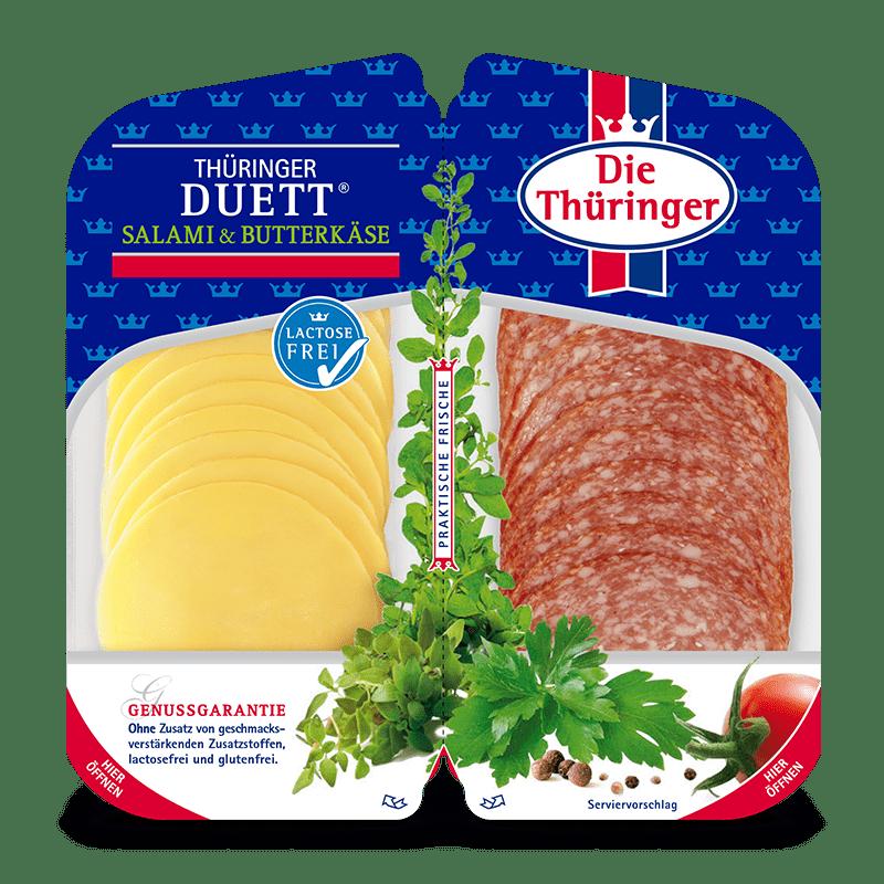 Thüringer Duett (Thüringer Salami & Butterkäse) 7