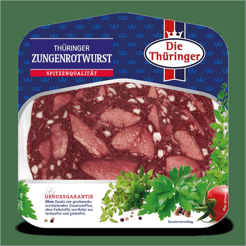 Thüringer Zungenrotwurst 8