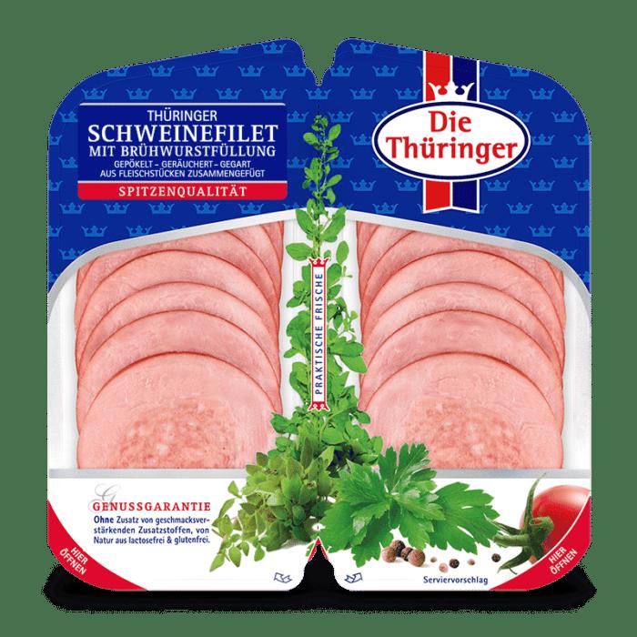 Thüringer Schweinefilet gefüllt 1